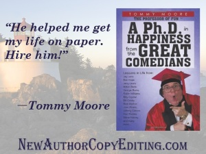 New Author Ad Tommy Moore