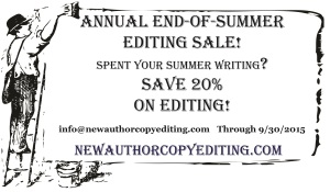 End of Summer Writing Ad 2